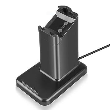 TOOGOO 2 en 1 para Fitbit Ionic Charger, Phone Tablet ...
