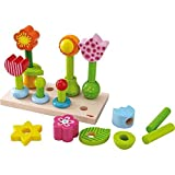 Haba Little Flower Garden Wood Pegging Game by HABA
