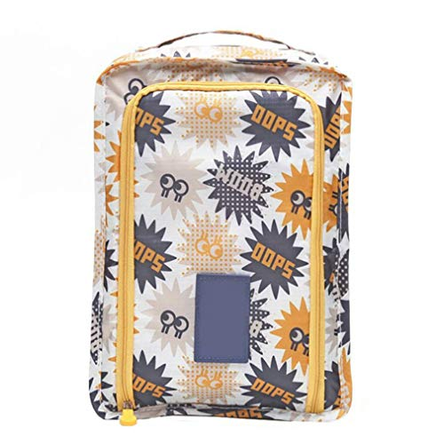 Packing Clipboard - CABLE FALL Travel Waterproof Shoes Bag Luggage Storage Pouch Zipper Packing 09