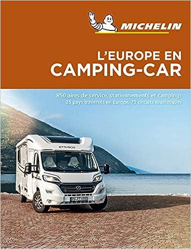 Je commande ce guide Michelin de l'Europe en camping-car