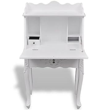Amazon.com: Tidyard Traditional French Secretary Home Office ...