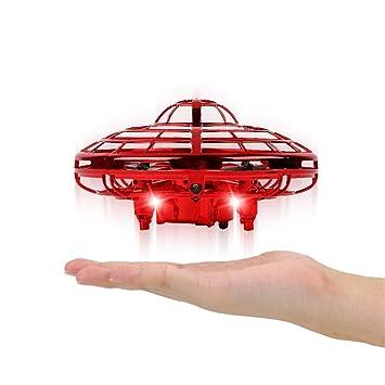 XINGXINGFAN Drone UFO, Regalo de Juguete de Drone Volador ...