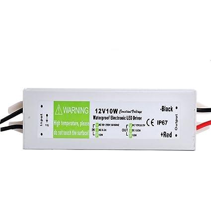 Led Transformer 10Watt 0 833Amp LED Strip Module Driver 12V