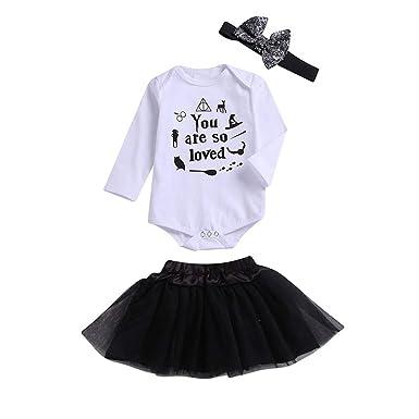 Sayla Ropa Bebe NiñA NiñO Invierno Camisetas Conjuntos Moda Bebé ...