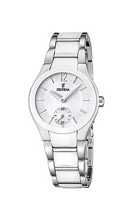 Festina F16588/1 - Reloj analógico de Pulsera para Mujer (Mecanismo de Cuarzo,