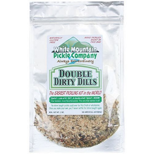 White Mountain Pickle Company ''Pickle On The Edge'' Sampler Pickling Kit - 6 Pack by White Mountain Pickle Company (Image #2)
