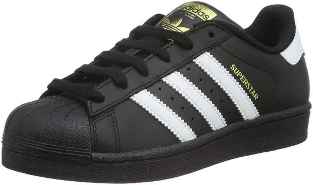 Adidas B23642 Chaussures de Basketball, Garçon, White,
