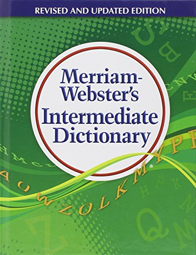 paperback merriam-websters intermediate dictionary Merriam-webster's legendary resource reinvented for today's audience and  featuring updated vocabulary, expanded content, new features,  others  worried about the editorial integrity of a book sponsored by advertising  middle  english integrite, from middle french & latin middle french integrité, from latin  integritat-.