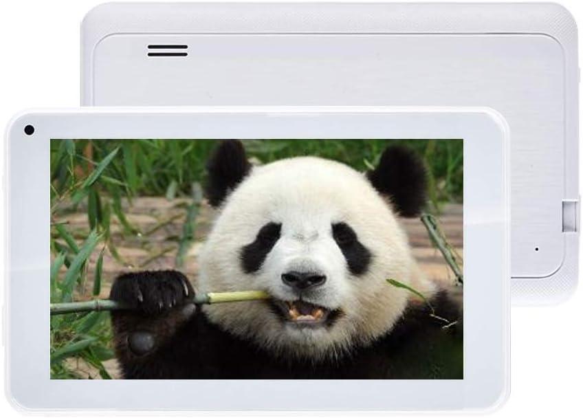 TXVSO Pad Tablet PC de 7 Pulgadas - Google Android 6.0 Quad Core, 1.3Ghz, Pantalla HD 1024x600, 1GB RAM + 8GB ROM, Bluetooth 4.0, WiFi, para niños Adultos, Blanco