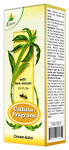 Zolotoy Us Cream-Balm with Callisia Fragrans and Bee Venom 75ml/2.5 Fl Oz