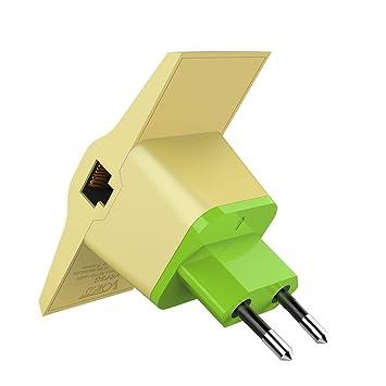 LEDMOMO VRP5G 2.4GHz / 5GHz Banda doble Wifi Amplificador de rango Puente Repetidor Amplificador de