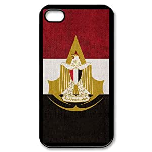 iPhone 4,4S Assassin's Creed pattern design Phone Case HAC13SJ13296