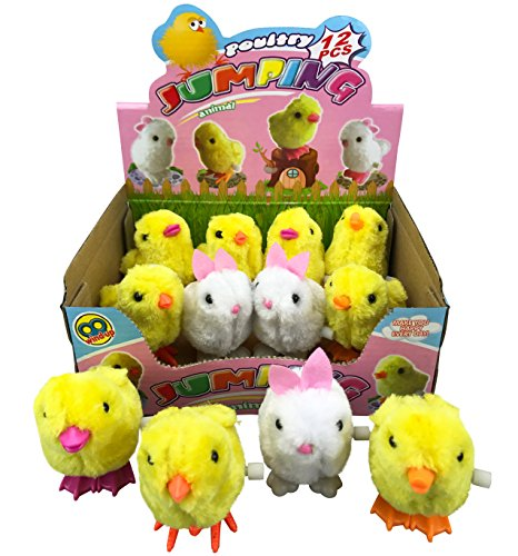 ing Chicken and Bunnies Party Favors (Pack of 12) (Jumping Bunny)