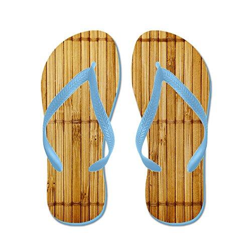 Cafepress Bambu - Flip Flops, Roliga Rem Sandaler, Strand Sandaler Caribbean Blue