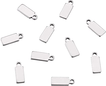 Stainless steel charms drops pendants 304 jewellery making crafts good quality