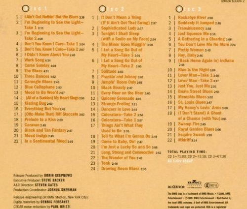 The Complete RCA Victor Mid-Forties Recordings (1944-1946)