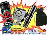 FARB GEL + Attack Alarm + 3w Mini Torch + Carry Pouch = (The Personal Defence Pack)