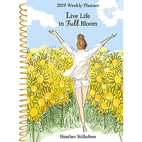 Live Life in Full Bloom 2019 Weekly Planner (Heather Mountain)