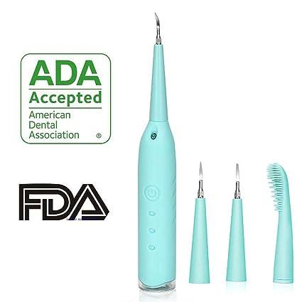 Cepillo de dientes eléctrico Limpiador de dientes Flosser de agua 3 cabezas de cepillo diferentes Limpie