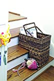 Creative Co-Op DA2452 BacBac Leaves Woven Stair Basket