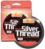 Silver Thread Super Filler Spools, Clear, 6-Pound Test/3000-Yard