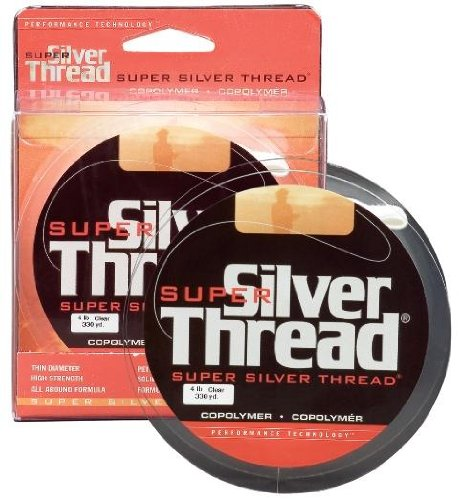 Silver Thread AN40 Bulk Spook Fishing Line-3000 Yards (Silver, 10-Pound Test) Pradco Outdoor Brands ZSST1000330