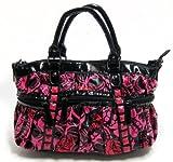 Iron Fist Muerte Punk Princess Skull Handbag Purse – Pink / Red, Bags Central