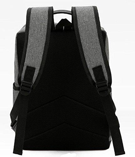 CCAFBP180997 dos Femme Daypack Sacs de randonnée Daypacks Noir Noir à Zippers VogueZone009 Mode qvwXd44