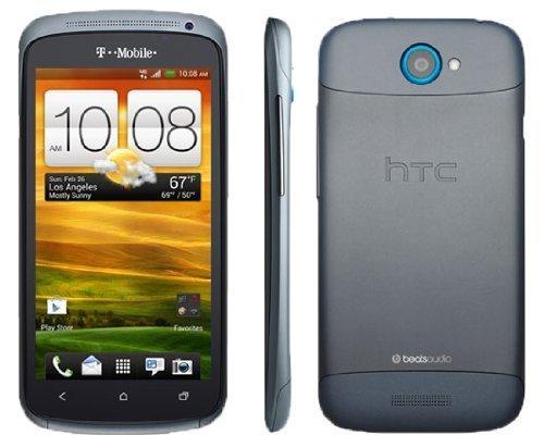 HTC One S 16GB Unlocked GSM Smartphone - International Version, No Warranty (Grey Blue)