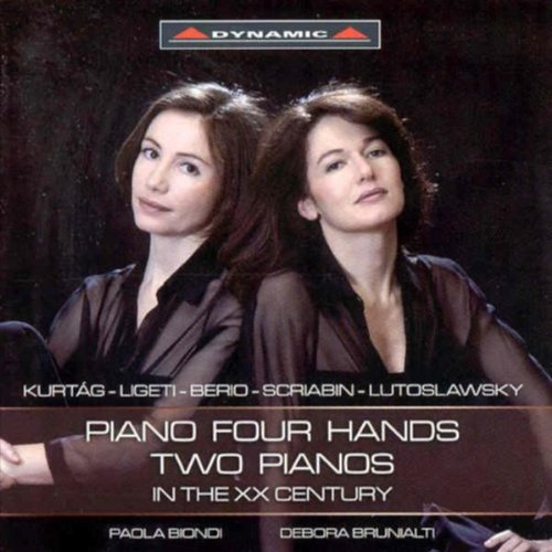 Piano Four Hands / Two Pianos in the XX Century