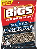 Bigs Sea Salt and Black Pepper Sunflowers Seeds, 5.35-Ounce (Pack of 48) For Sale