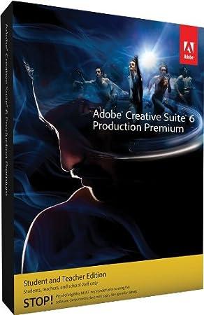 Adobe CS6 Production Premium Student and Teacher Edition