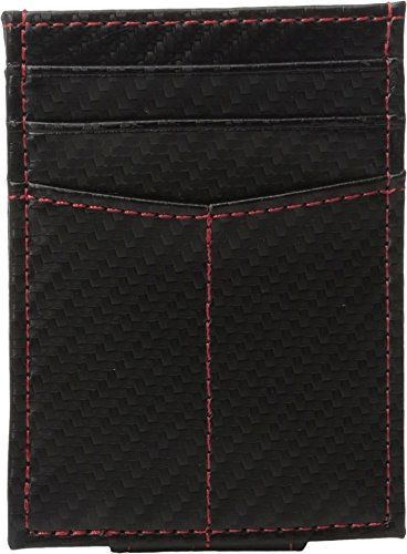 Johnston & Murphy Men's Front Pocket Wallet Black Cell Phone Wallet