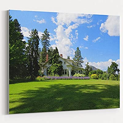 Westlake Art Canvas Print Wall Art - Estate Nature on Canvas Stretched Gallery Wrap - Modern Picture Photography Artwork - Ready to Hang - 16x20in (x7x-037-6bf)