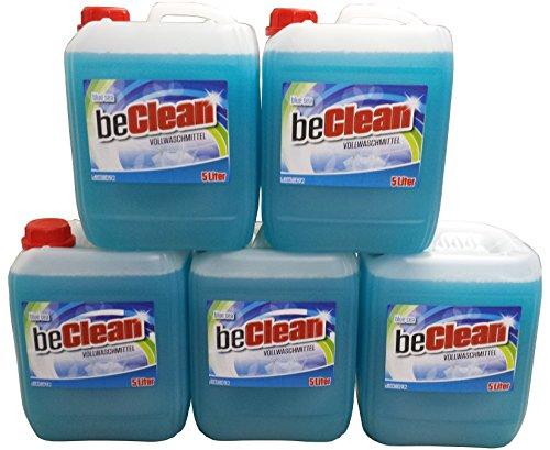 Flüssigwaschmittel beclean blue sea 5x5 Liter Kanister