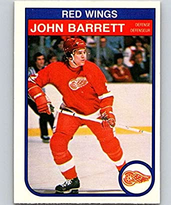 Amazon.com  1982-83 O-Pee-Chee  80 John Barrett RC Rookie Red Wings ... 2da274f51