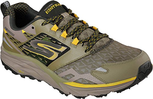 Skechers Mens Go Trail Running Shoes Olive 12 D(M) US Go Trail