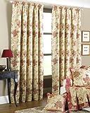 Cheltenham Heavy Weight Rust Jacquard Curtains 168 X 183