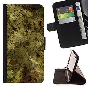 - PAINTING SPLASH WALLPAPER ART MODERN RANDOM - - Prima caja de la PU billetera de cuero con ranuras para tarjetas, efectivo desmontable correa para l Funny HouseFOR Samsung Galaxy Note 3 III