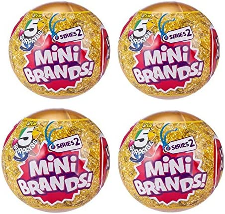 5 Surprise Mini Brands Series 2 - 4 Ball Bundle