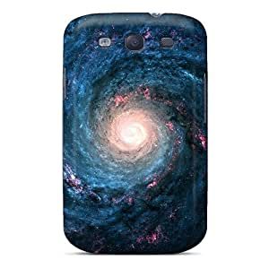 Fashion Cases For Galaxy S3- Spiral Space Defender Cases Covers
