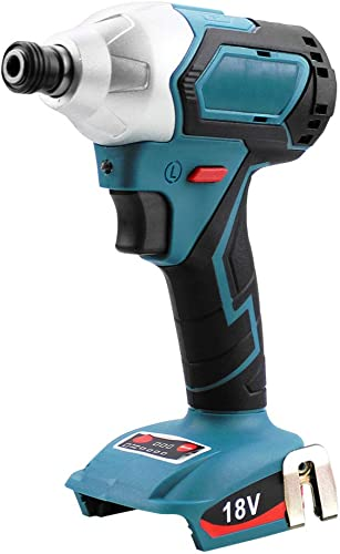 Cordless Impact Driver 1 4 0-3300 RPM 4-Speed Brushless Impact Screwdriver with LED Work Light, 330 Nm, Compatible With Makita 18v Lithium Battery – BLFR1218B TOOL ONLY