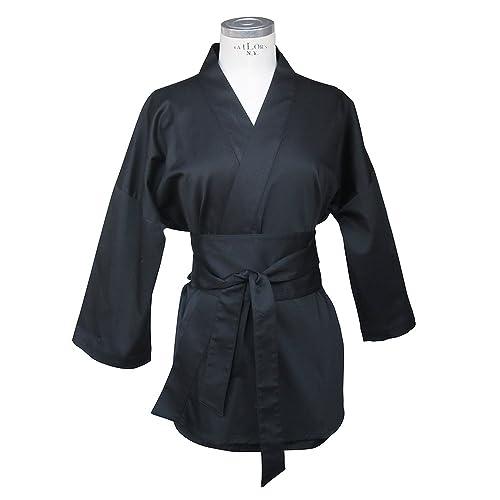 Kimono Laos negro / Uiformes spa