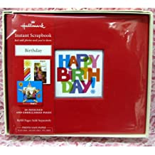 Hallmark SBK5536 Happy Birthday Instant Scrapbook