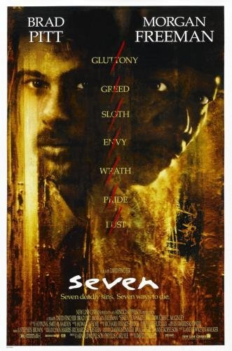 Image result for seven movie poster
