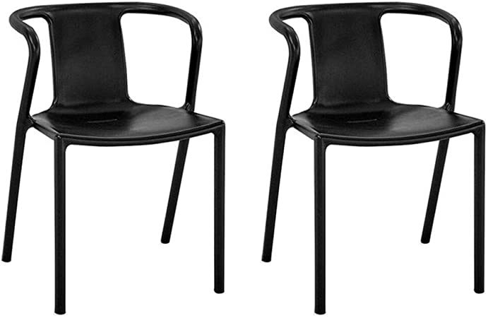 Sedie Moderne In Plastica.Jieer C Sedie Per Il Tempo Libero Sedia Da Pranzo Set Di 2 Sedie