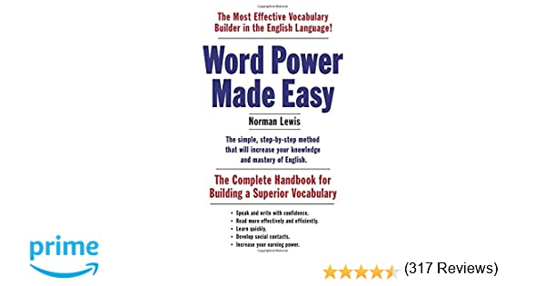 Amazon.com: Word Power Made Easy: The Complete Handbook for ...