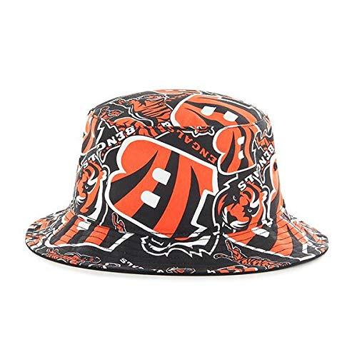 dfa3c55051f3c7 Amazon.com : '47 Chicago Bears Bravado Printed All Over Bucket Hat - NFL  Gilligan Fishing Cap : Clothing