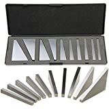 Anytime Tools Angle Block Set 1°, 2°, 3°, 4°, 5°, 10°, 15°, 20°, 25°, 30° Precision +/- 20 Seconds, Machinist Tool, 10 Piece Set