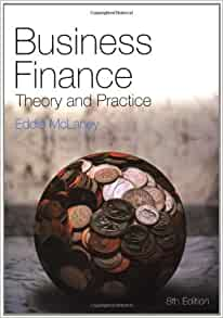 Business finance theory and practice eddie mclaney